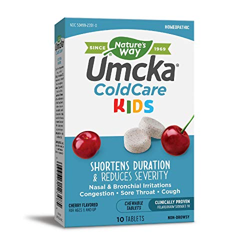 Nature's Way Umcka ColdCare Kids Chewable (Cherry)
