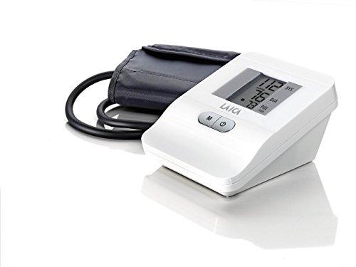 Tensiómetro digital de brazo color blanco Laica 120 memorias BM2006 fácil de usar.