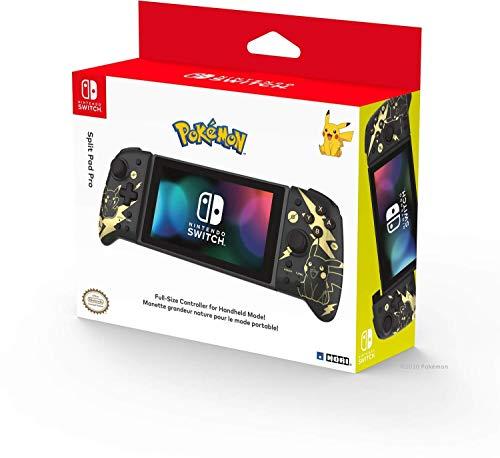 HORI - Controlador Split Pad Pro Pikachu Black & Gold (N