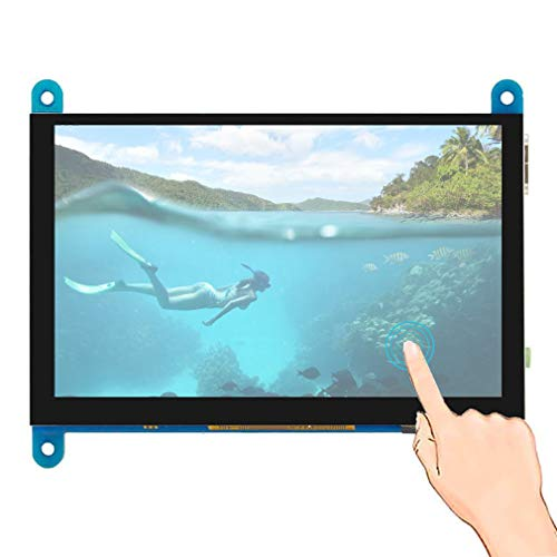 5-inch LCD monitor 800X480 screen for Raspberry Pi 4 Model B 3B+/3B/2B/B+,5-inch,LCD monitor, 800X480 screen,for Raspberry Pi 4 Model B, 3B+/3B/2B/B+