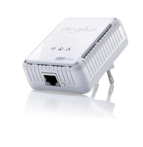 Devolo dLAN 500 Avmini HomePlug AV-Adapter (Ethernet, 500MBit/s, Netzwerk aus der Steckdose) weiß