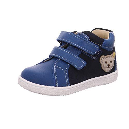 Steiff Kinder Klettschuhe Raaphael MK0167A8E.B blau 396315
