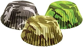 Fox Run 7134 Camouflage Bake Cup Set, 3 x 3 x 1.25 inches, Multicolored