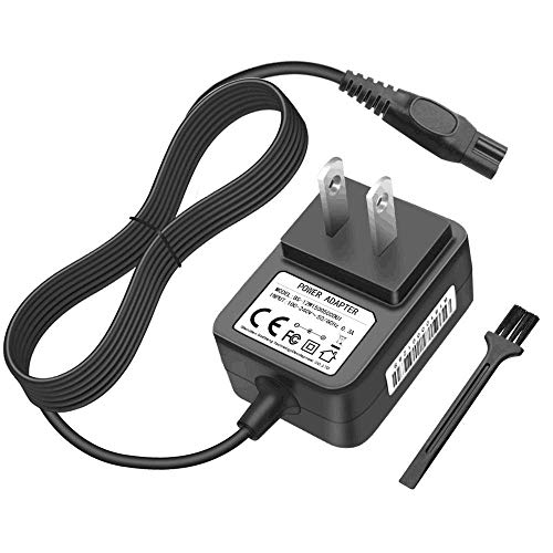 IBERLS DC 15V Philips Shaver Norelco HQ8505 Charger Power Supply Adapter Cord for Philips Norelco 7000, 5000, 3000 Series Razor Multigroom Pro All-in-One Grooming Trimmer, Precision, Bodygroom Ect