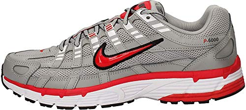 Nike P-6000 Herren Running Trainers CD6404 Sneakers Schuhe (UK 10.5 US 11.5 EU 45.5, Flat Silver 001)