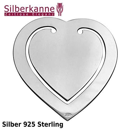 Lesezeichen Herz Sterlingsilber - 2