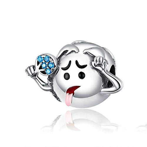 JCaleydo - Planète Terre Chauffage Global Silver - Boîte Cadeau* Compatible avec Bracelet Pandora