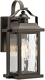 Kichler Linford 13.7-in H Olde Bronze Outdoor Wall Light