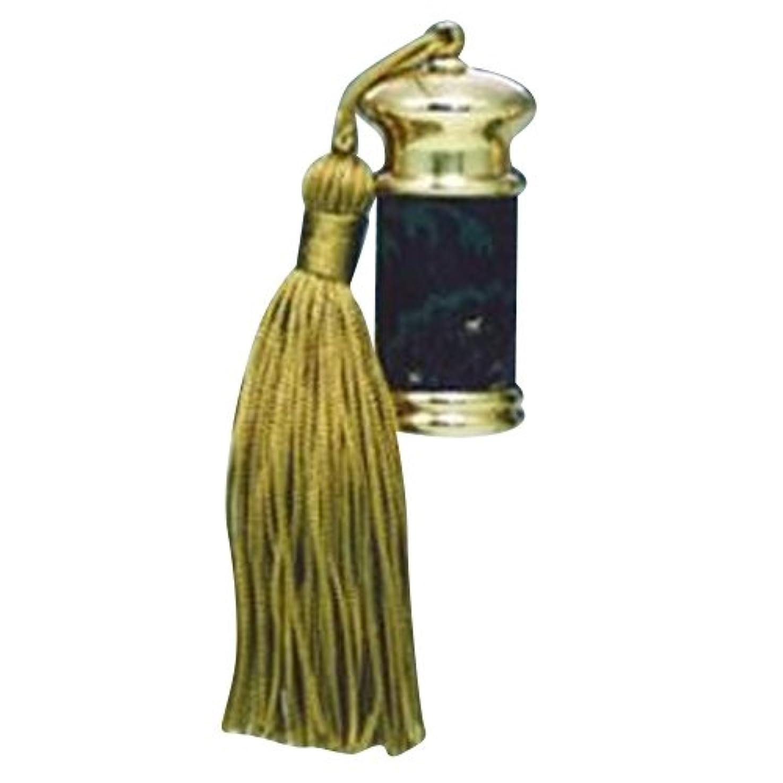 適切な栄養元に戻すヒロセアトマイザー エスニック レザー ボトル (真鍮 革巻き) 23012 BK (ブラック)
