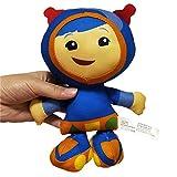 T-e-a-m U-m-i-z-o-o-m-i Plush Toy Doll, Cute Cartoon Character Bot Milli Geo Stuffed Figure Ornament, Mathematics Enlightenment Education Plush Pillow Cushion for Decoration & Friends Kids Gift