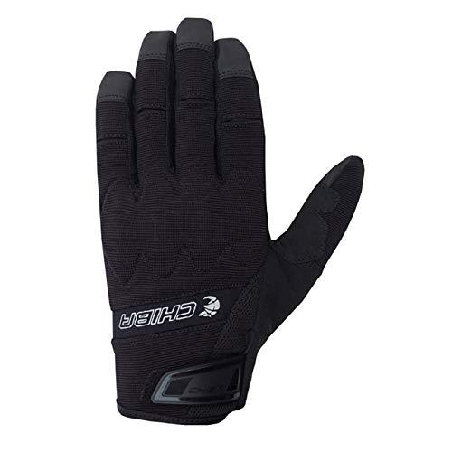 Chiba Gel Master Fahrrad Handschuhe lang schwarz 2018: Größe: M (8)