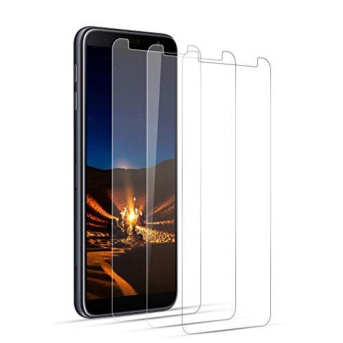 Panzerglas Schutzfolien Samsung Galaxy J6 2018 PlusJ4 Plus Full Screen 3D, Fall Freundlich, Kante an Kante, Blasenfrei, Anti-Kratzer, Berührungsempfindlich, Ultra-HD Panzerglasfolie Displayschutzfolie