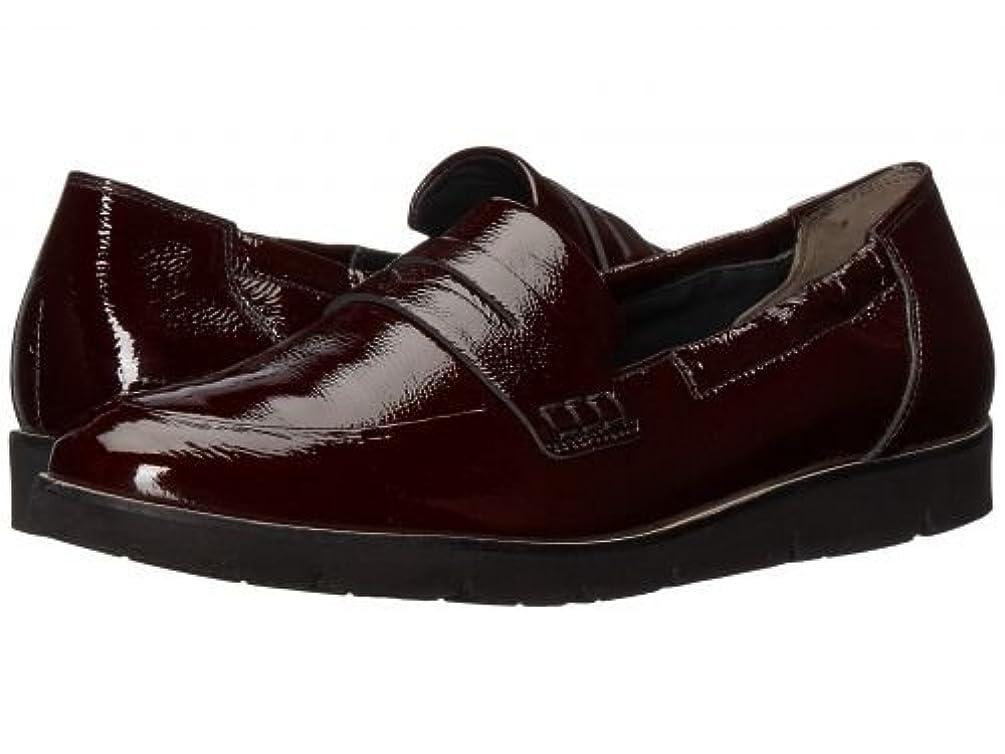 礼儀時計哺乳類Paul Green(ポールグリーン) レディース 女性用 シューズ 靴 ローファー ボートシューズ Nico Loafer - Bordo Crinkled Patent [並行輸入品]