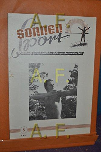 Sonnensport, Zeitschrift für neuzeitliches Volkssportwesen und FKK, Heft 5, 1951
