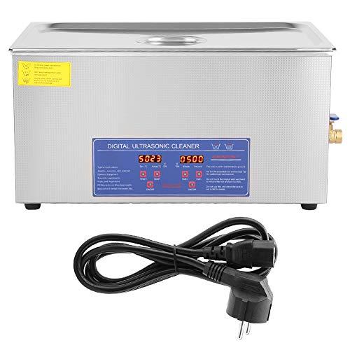 Pulitore ad Ultrasuoni, Professionale Ultrasonic Dispositivo Cleaner Riscaldatore in Acciaio Inossidabile con Timer Digitale Display Sensore Temperatura e Cesto (22L)