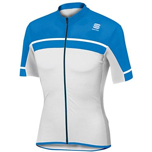 Maillot Sportful Pista Blanco-Azul 2017