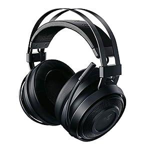 Razer Nari Essential Auriculares Inalámbricos para juegos, comodidad sin compromiso, THX Spatial Audio e iluminación RGB Chroma para PC, Xbox One, PS4 y Switch