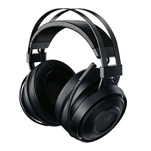 Razer Nari Essential – Casque Gamer Sans Fil (Bluetooth Casque de Jeu Sans Fil avec THX Spatial Audio 360°, Coussin de Gel Rafraîchissant pour PC, PS4, & Switch)