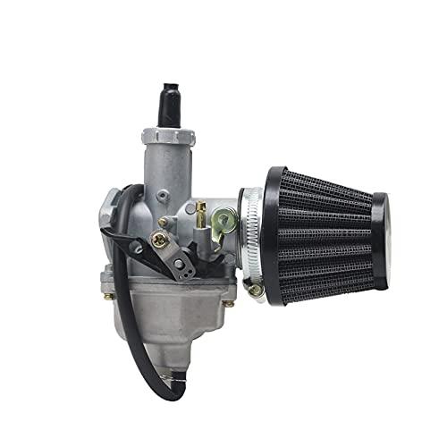 Motocicleta PZ26 PZ27 PZ27 PZ30 Carburador con Filtro de Aire Conjunto Cable de Manual para 125cc 150cc 200cc 250cc Dirt Pit Bike ATV Quad Carburador (Color : PZ26)