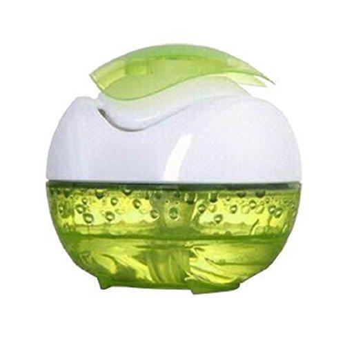Ducomi Mini USB Aromaterapia diffusore portatile purificatore d'aria per la casa, camera da letto, auto, ufficio, senza nebbia (Green)