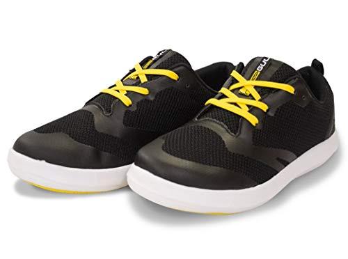 Gul, scarpe da ginnastica Hydro Aqua, ideali per canoa, kayak, moto d'acqua e passeggiate sulla spiaggia, Black, UK Adult 5