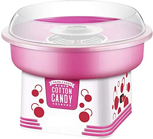LUNAH Cotton Candy Machine Electric Candy Floss Maker, 500W Household Cotton Candy Machine, Ideal for Kids Birthday Party Children