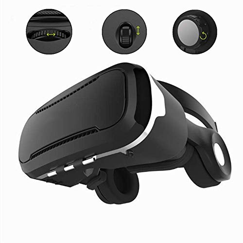 Read About XHMCDZ VR Headset with Remote Controller,HD 3D VR Glasses Virtual Reality Headset for VR ...