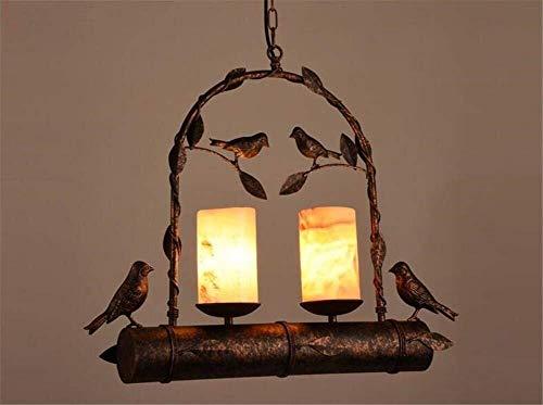 ZHENYUE kroonluchter ® Vogel ijzer marmer kroonluchter kroonluchter verlichting plafondlamp lamp ophangsysteem 220V H 48 cm X 50 cm W kroonluchter ZHENYUE