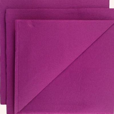 Serviette papier micropointe prune 38x38cm par 80