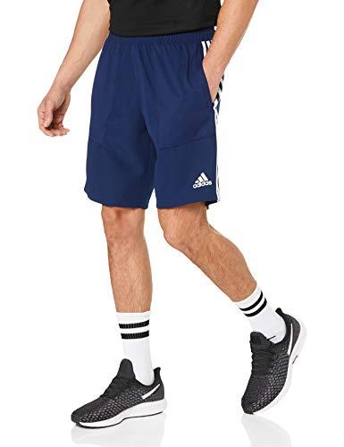 adidas Breve Girato 19, Pantaloncini Uomo, Blu (Dark Blue/White), M