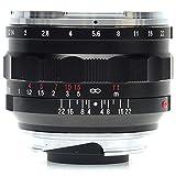 Voigtlander Nokton 40mm f/1.2 Wide Angle Leica M Mount Lens - Black