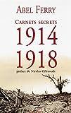 Carnets secrets (1914 - 1918): Suivi de 46 lettres inédites