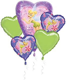 tinkerbell balloon bouquet