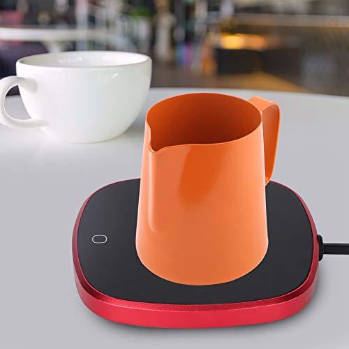 Socobeta Almohadilla calefactora para mantener el calor en la oficina, para café o leche.