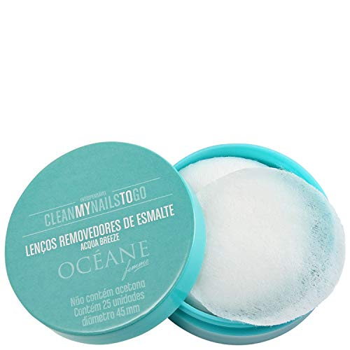 Lenço Removedor de Esmalte - Clean My Nails To Go Acqua Breeze - Océane