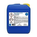 Wasserstoffperoxid 12% I 5 Ltr. I Food Grade I PROFESSIONELLER Algenvernichter für Pool &...