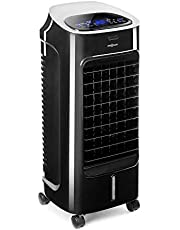 oneConcept Coolster 4-in-1 airconditioning: luchtkoeler + ventilator + ionisator + luchtbevochtiger (65 W, 320m³ / h, 4 liter tank, oscillatie) zwart