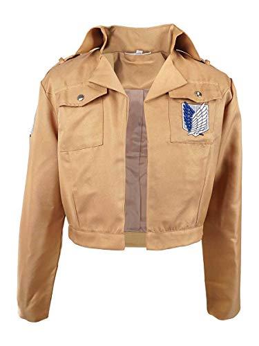 CoolChange Veste du Bataillon d'Exploration de la série Attack on Titan, Taille: XL