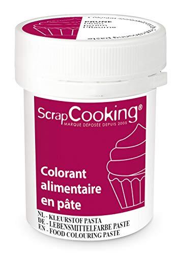 ScrapCooking Colorant en Pâte Prune 20 g