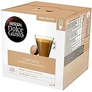 Nescafé Dolce Gusto Magnum Espresso Macchiato - Cápsulas de Café - 3 x 30 - 90 Cápsulas