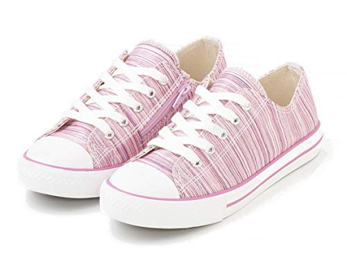 TEX - Zapatillas De Lona para Niña, Rosa, 32 EU