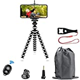 Best Flexible Tripod For Cell Phones - Phone Tripod Kit, SmilePowo Flexible Tripod with Bluetooth Review
