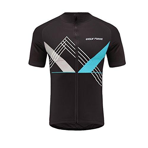 Uglyfrog Neu Sommer Herren Cycling Jersey Männer Radfahren Trikots & Shirts Atmungsaktiv Mode Bunt Sport Bekleidung DX01