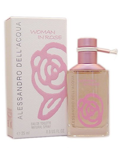 Alessandro Dell Acqua Woman In Rose Eau de Toilette 25ml Vaporizador