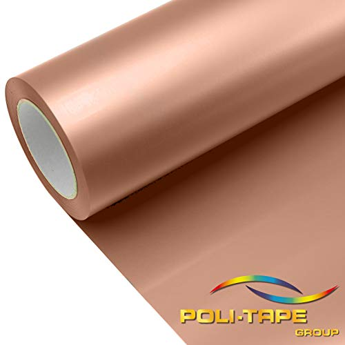 POLI-FLEX® TURBO Bügelfolie in DIN A4, PoliFlex Turbo Farbe:4922 ROSE-GOLD-METALLIC