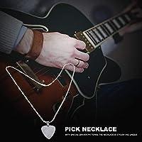 ウクレレのギタープレーヤーのための取り外し可能なギターピックネックレス(D)