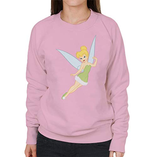 Disney Christmas Tinkerbell Fly Peter Pan Women's Sweatshirt