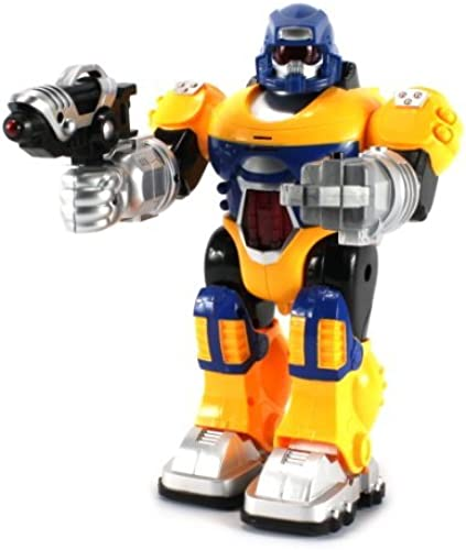 nuevo sádico Power Warrior Android Robot Robot Robot Toy Figure w  Lights, Sounds, Realistic Walking Function (Colors May Vary) by Velocity Toys  venta caliente en línea
