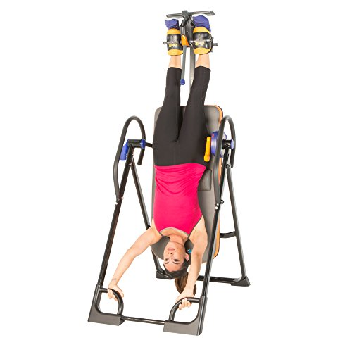 Product Image 5: Exerpeutic 975SL All Inclusive Heavy Duty 350 lbs Capacity Inversion Table with Air Soft Ankle Cushions, Surelock and iControl Systems