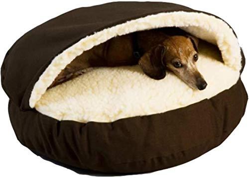 Huisdier nest Pet Dog Bed Pet Cave Bed, Cozy Cuddler met verwisselbare Top En Insert, aanbiedingen hoofd, nek en Joint Support, hok